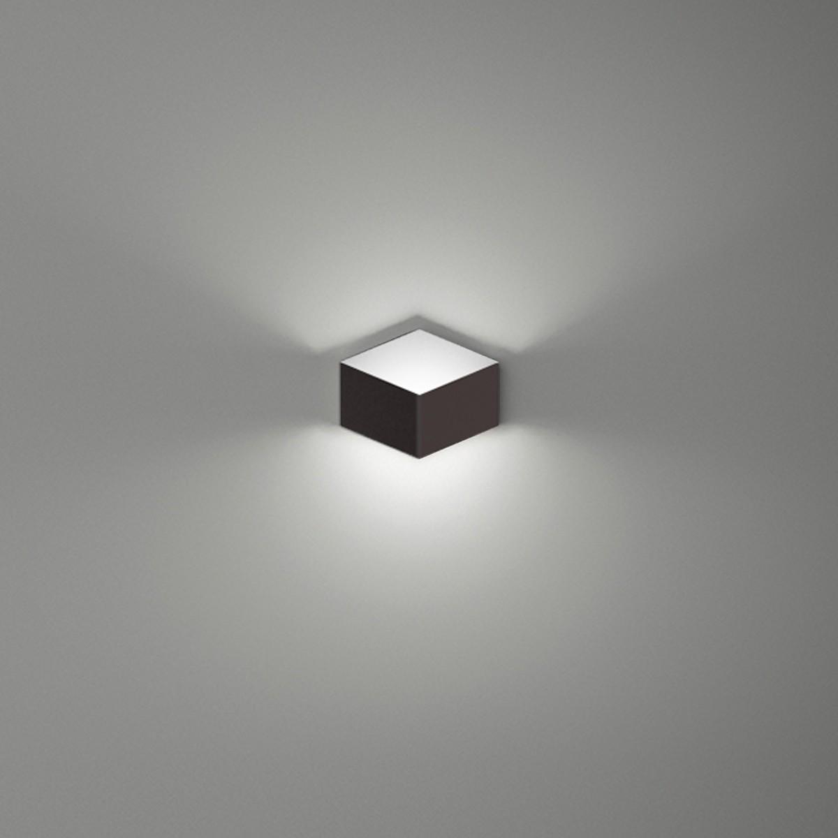 Vibia Fold 4200 Wandleuchte, dunkelbraun matt
