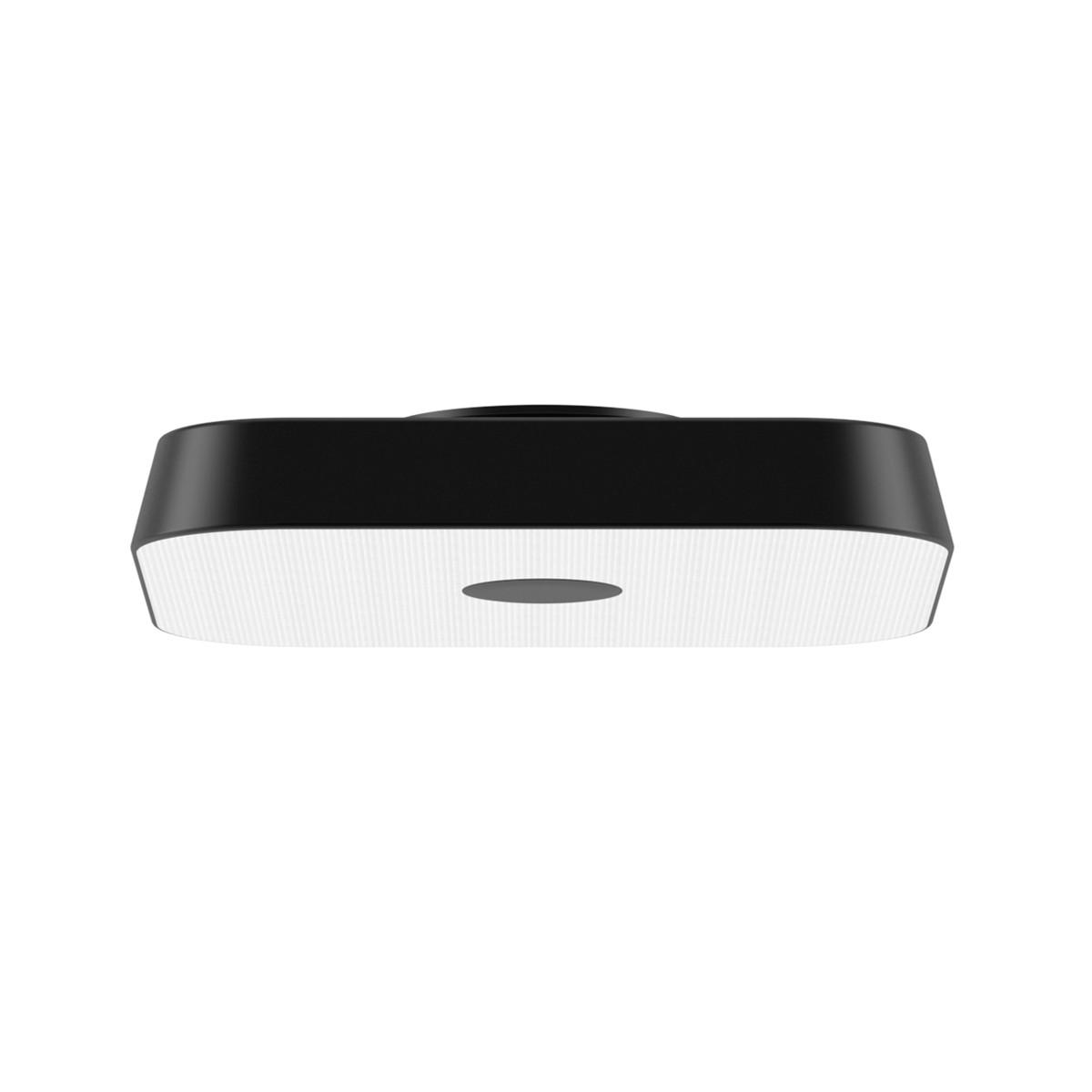 Belux Koi-Q LED Deckenleuchte, Multisens, 3000K, schwarz
