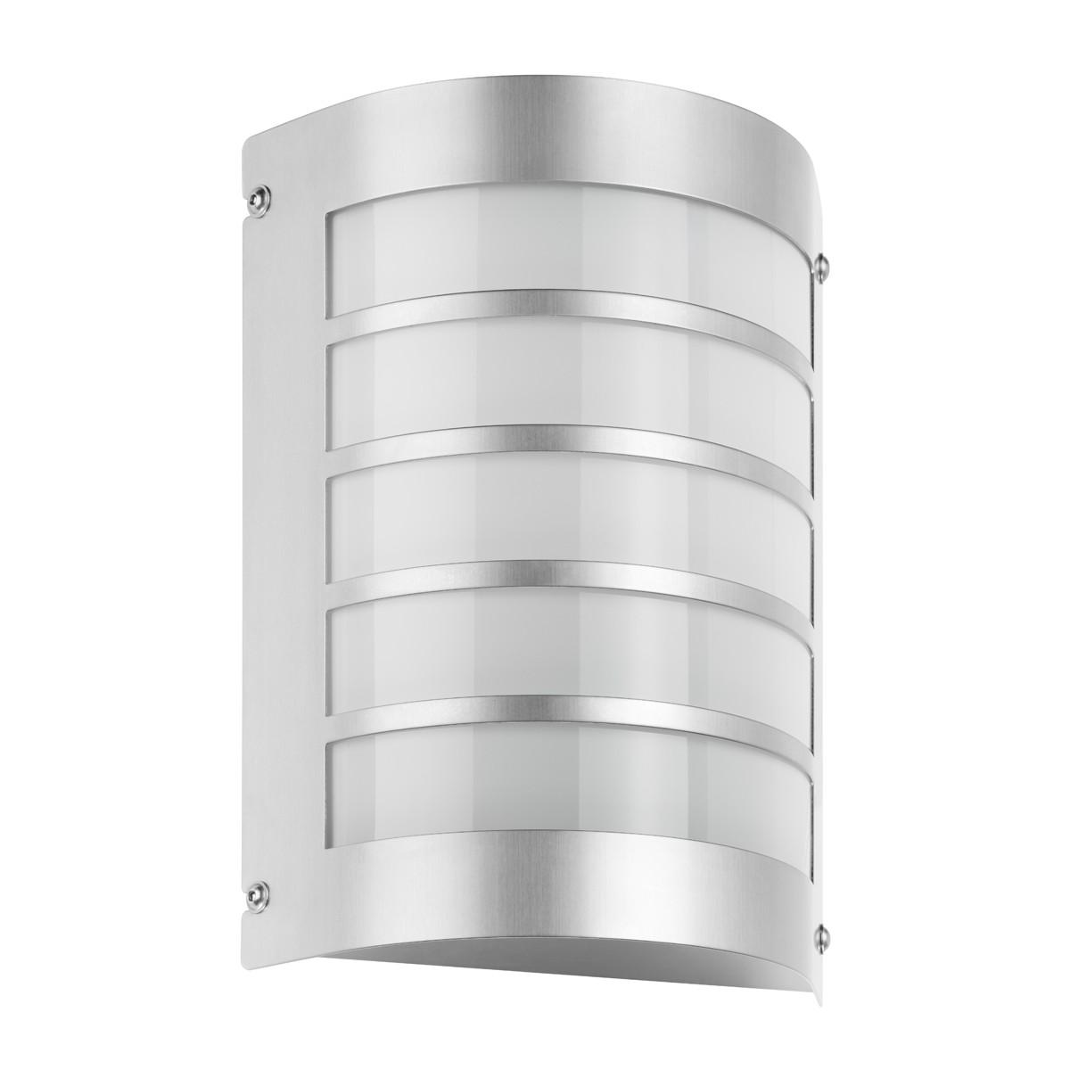 LCD Außenleuchten 5091 Wandleuchte, Edelstahl, ohne Bewegungsmelder