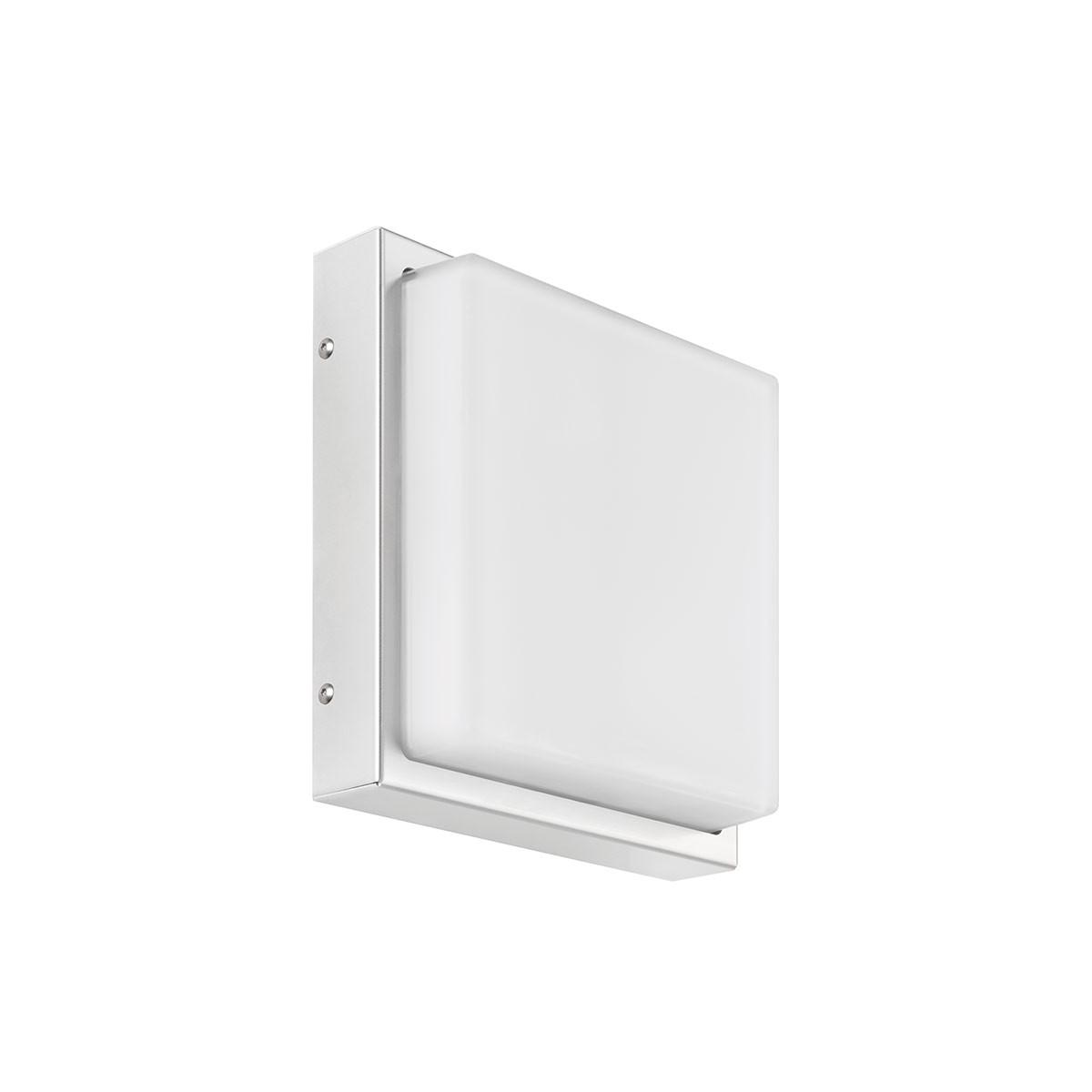 LCD Außenleuchten 046 Wandleuchte, Edelstahl, ohne Bewegungsmelder