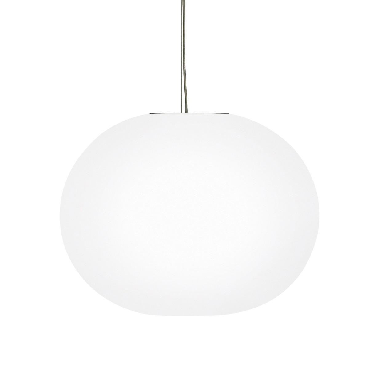 Flos Glo-Ball S Pendelleuchte, S2, Ø: 45 cm, weiß