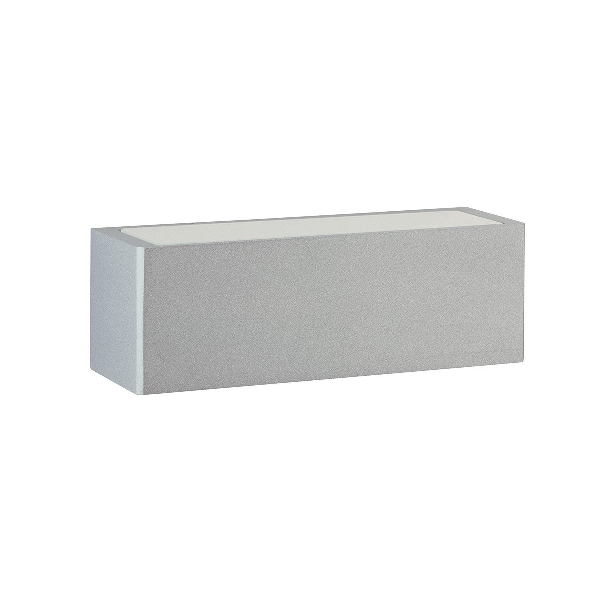 Albert 6368 Außenwandleuchte LED, Silber