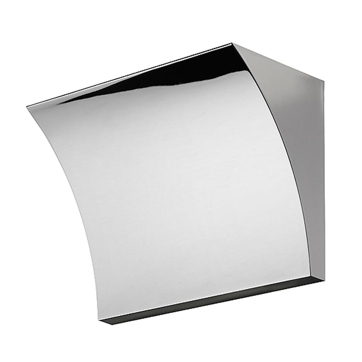 Flos Pochette LED Wandleuchte, Chrom