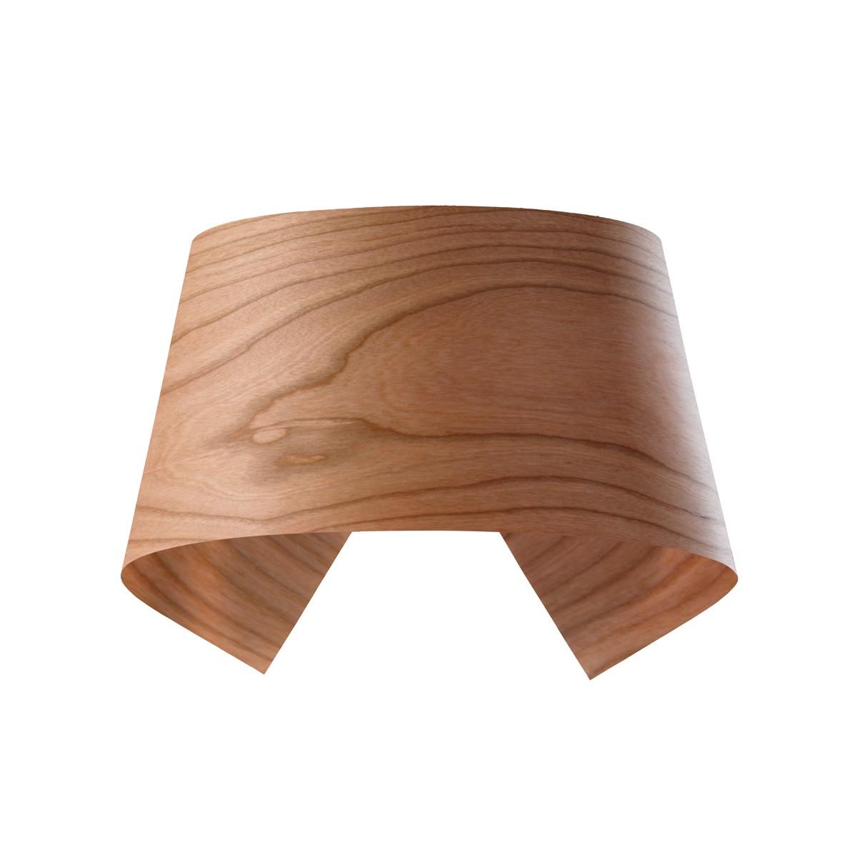 LZF Lamps Hi-Collar Wandleuchte, Kirsche