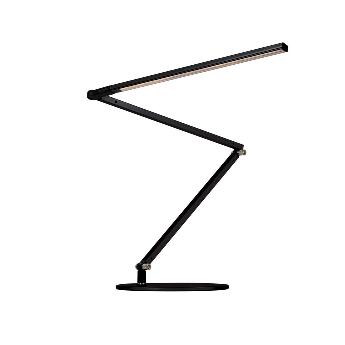 BellXpress Z-Bar Tischleuchte, schwarz, mit Präsenzmelder