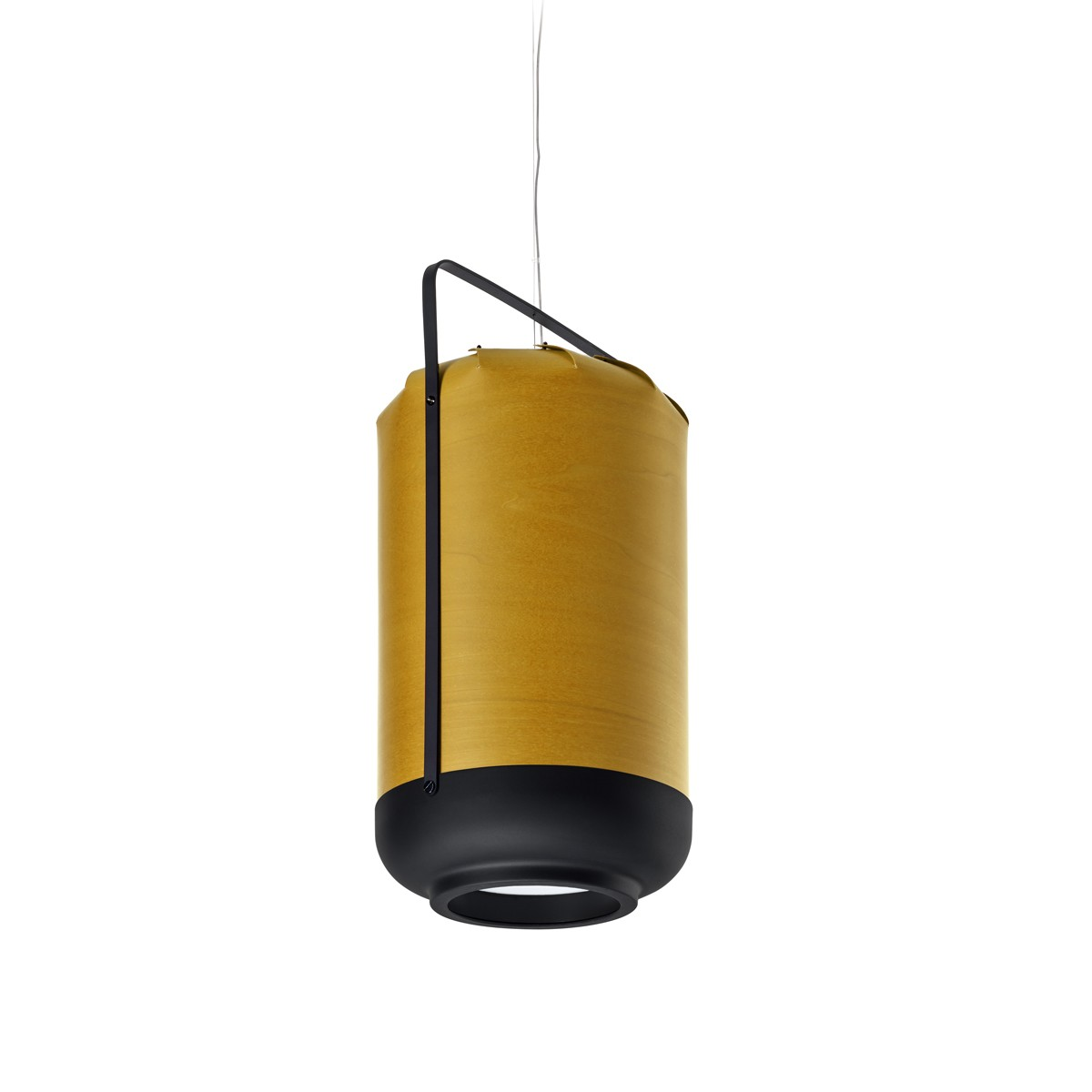 LZF Lamps Chou Tall Small Pendelleuchte, gelb