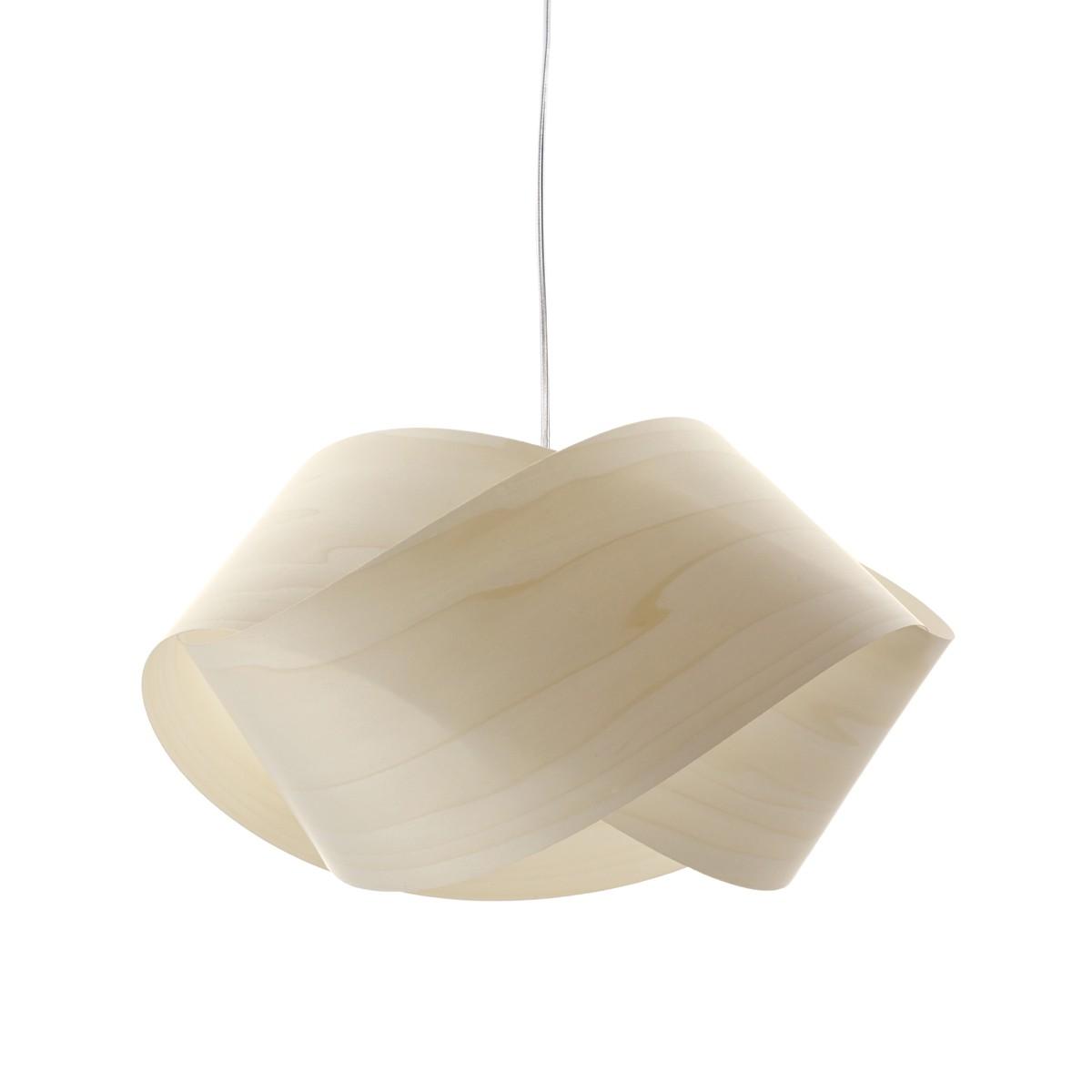 LZF Lamps Nut Pendelleuchte, elfenbeinweiß