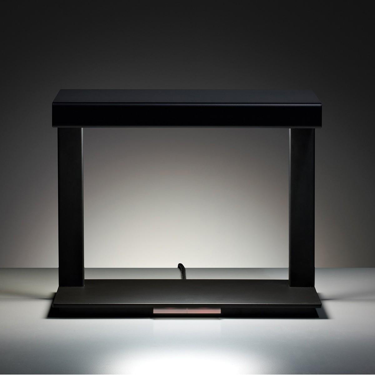 Tecnolumen Ton 09 Tischleuchte, schwarz lackiert