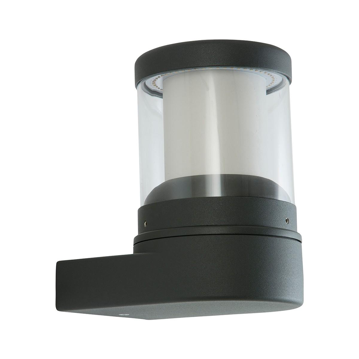 LCD Außenleuchten 1283/1293 Wandleuchte LED, graphit