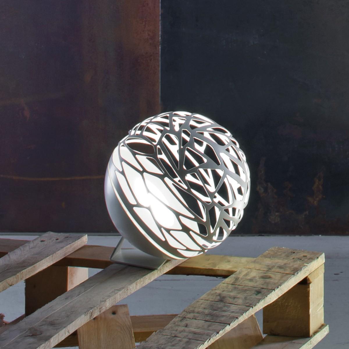 Studio Italia Design Kelly Mini Sphere Tischleuchte, weiß matt
