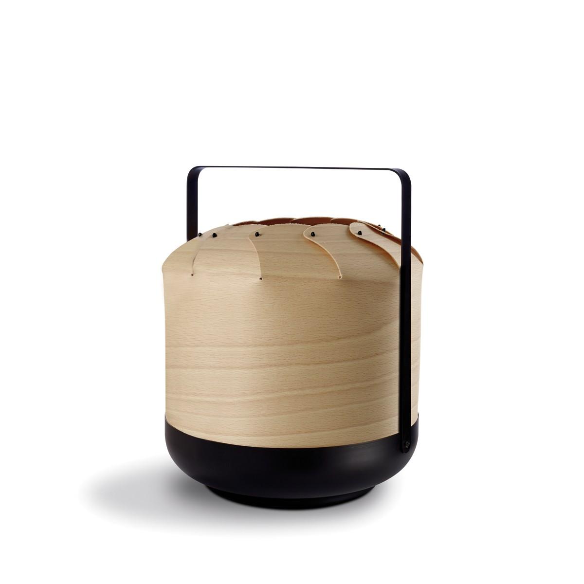 LZF Lamps Chou Short Small Tischleuchte, Buche