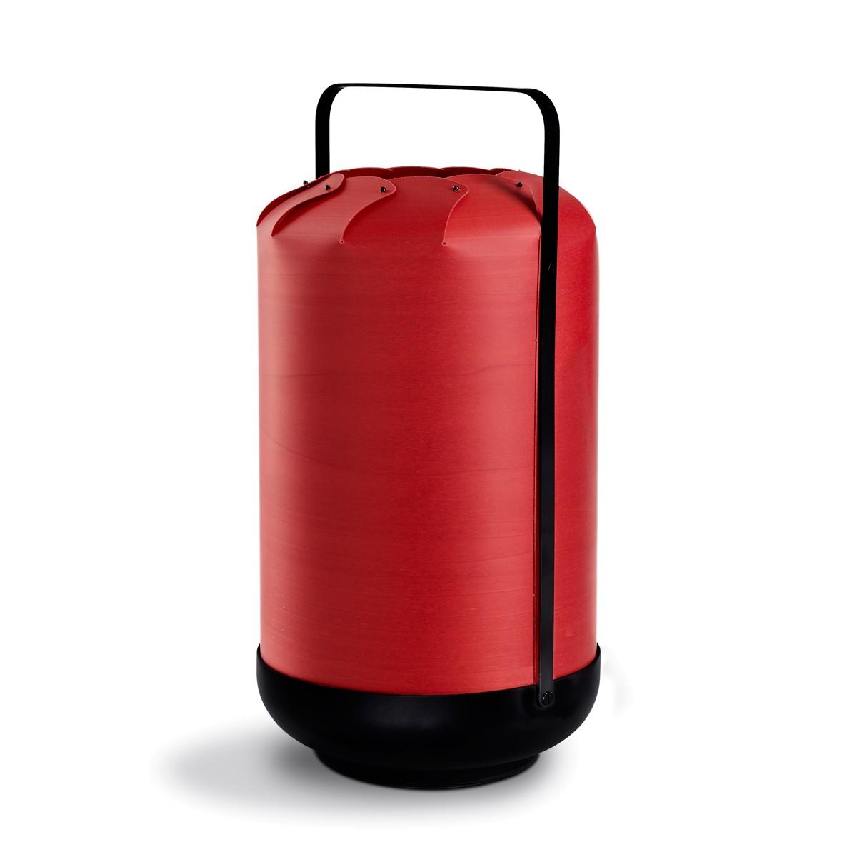 LZF Lamps Chou Tall Medium Tischleuchte, rot