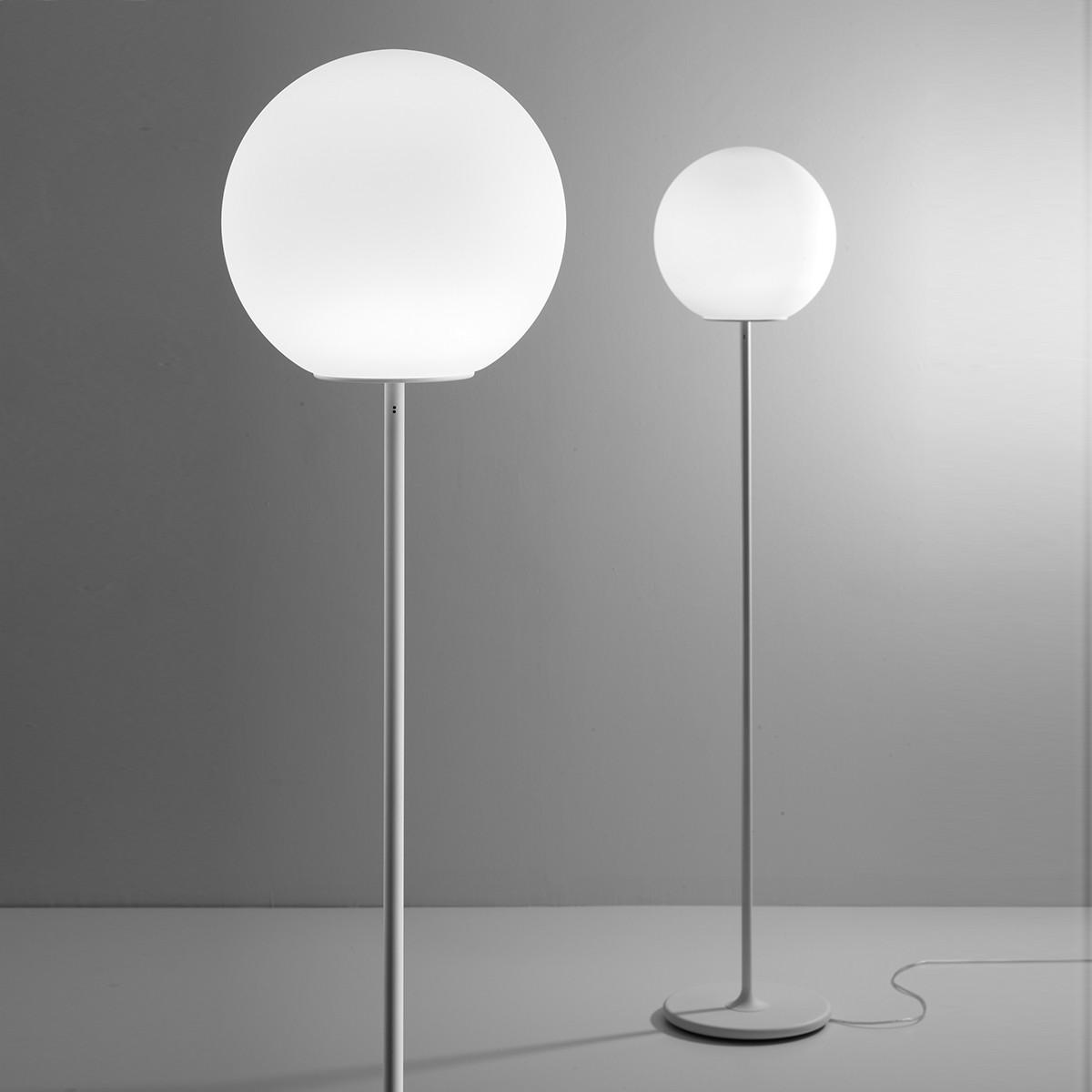Fabbian Lumi Sfera Stehleuchte, weiß, Ø: 40 cm