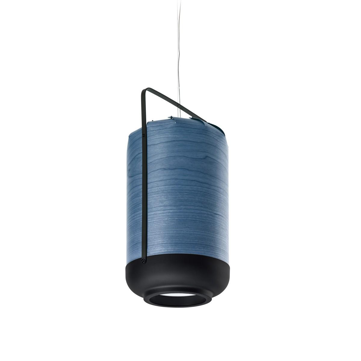 LZF Lamps Chou Tall Small Pendelleuchte, blau
