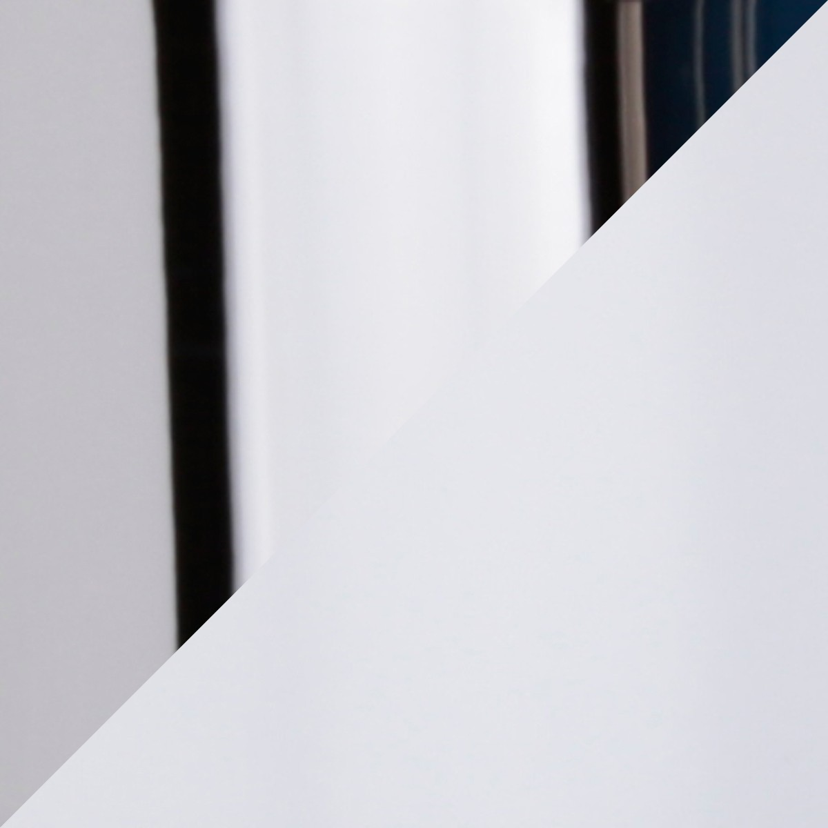 Top Light Puk Quartett Pendelleuchte, weiß / Chrom