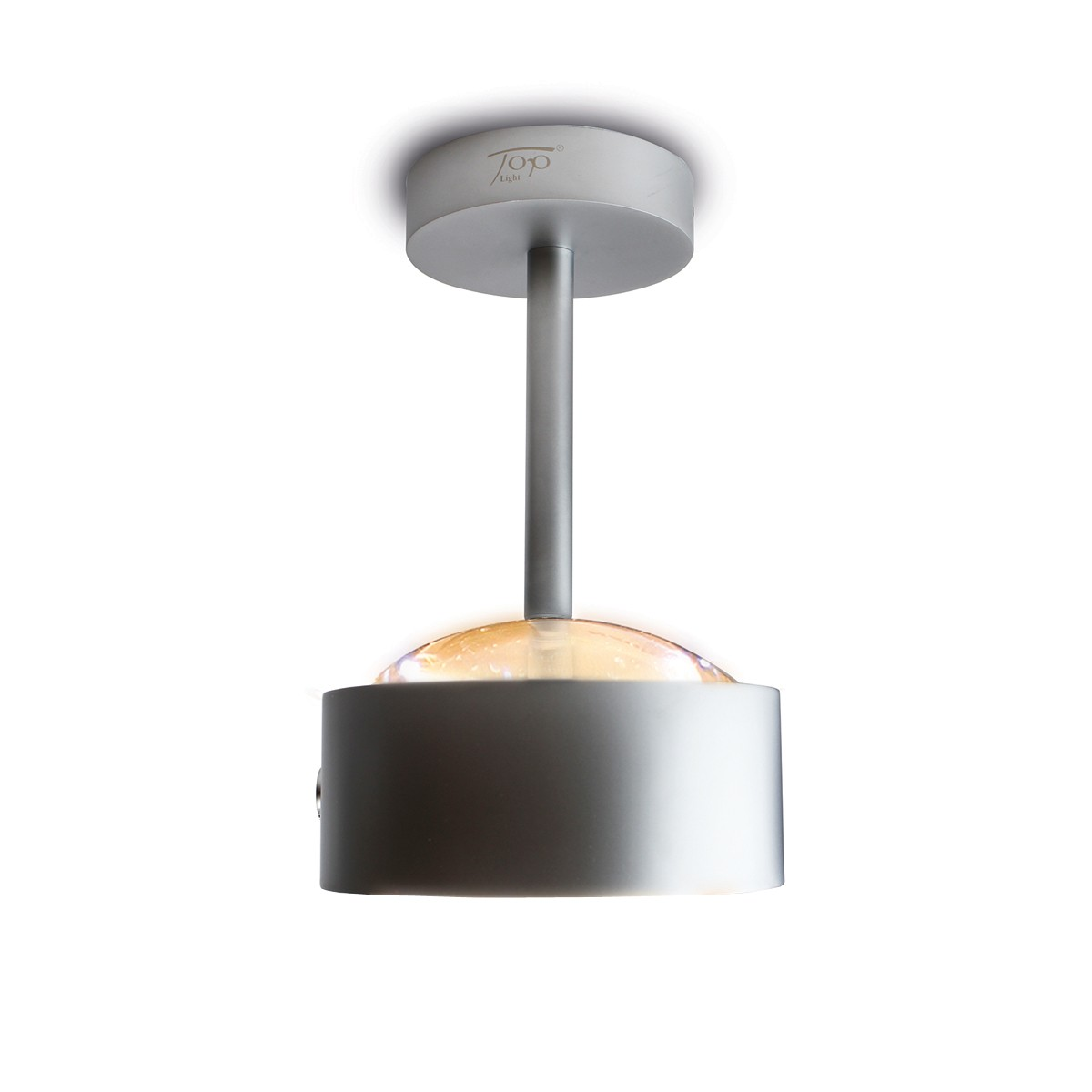 Top Light Puk Maxx Eye Ceiling LED Deckenleuchte, Chrom matt