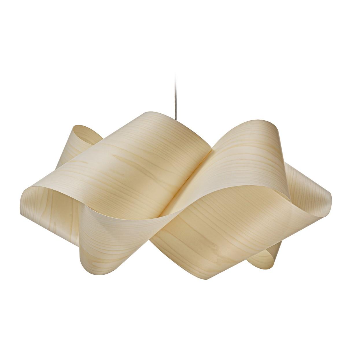 LZF Lamps Swirl Large Pendelleuchte, elfenbeinweiß