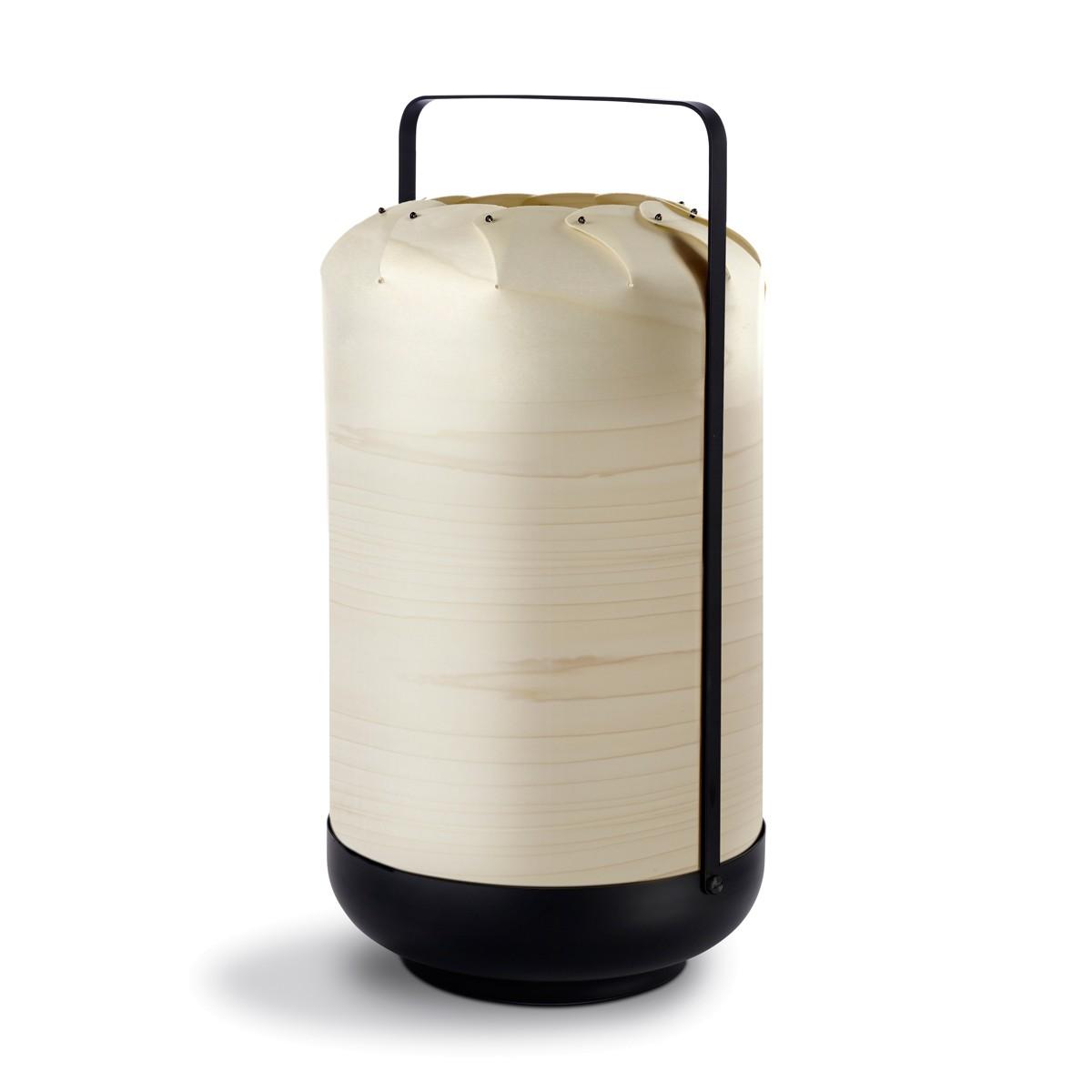 LZF Lamps Chou Tall Medium Tischleuchte, elfenbeinweiß