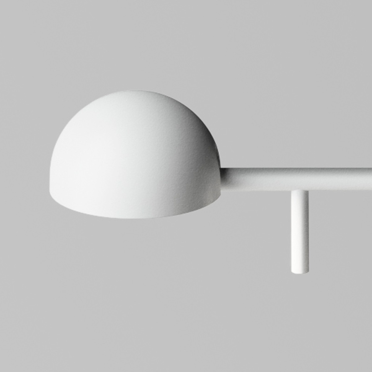 Vibia Pin 1655 Tischleuchte, weiß matt