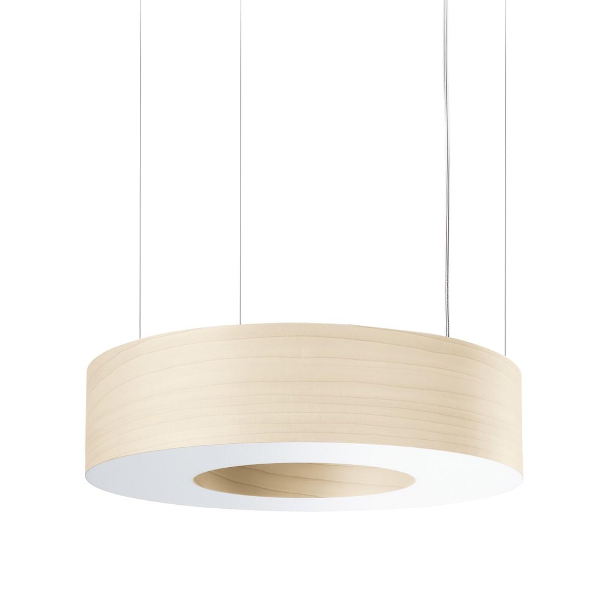 LZF Lamps Saturnia Medium LED Pendelleuchte, elfenbeinweiß