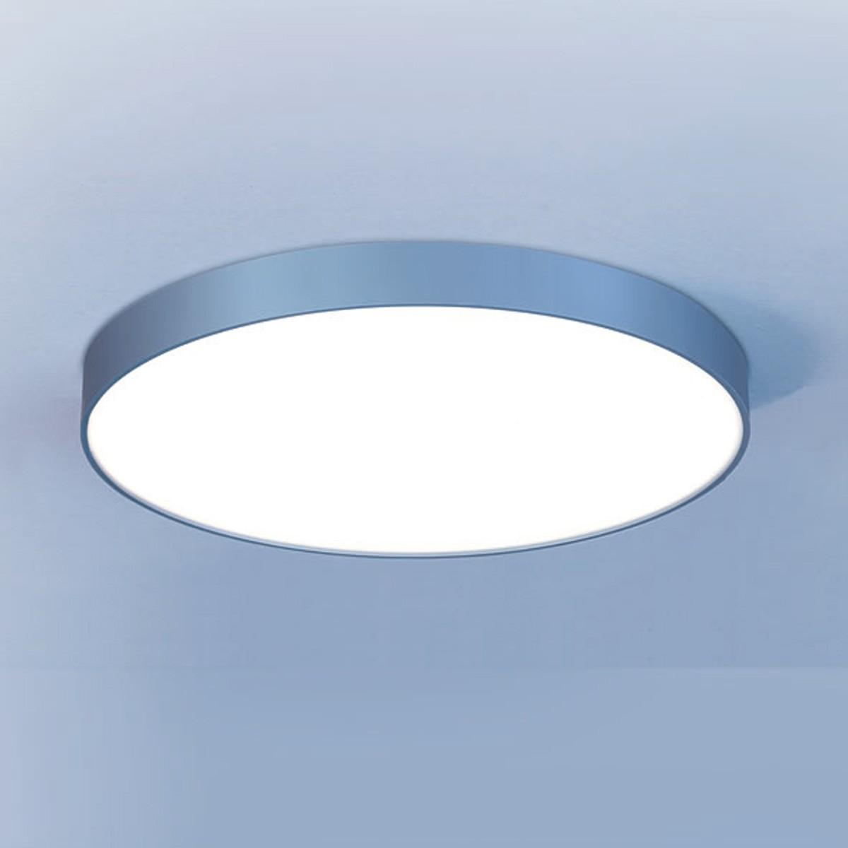 Lightnet Basic-A1 IP54 Wand- / Deckenleuchte, Ø: 30 cm, Silber matt