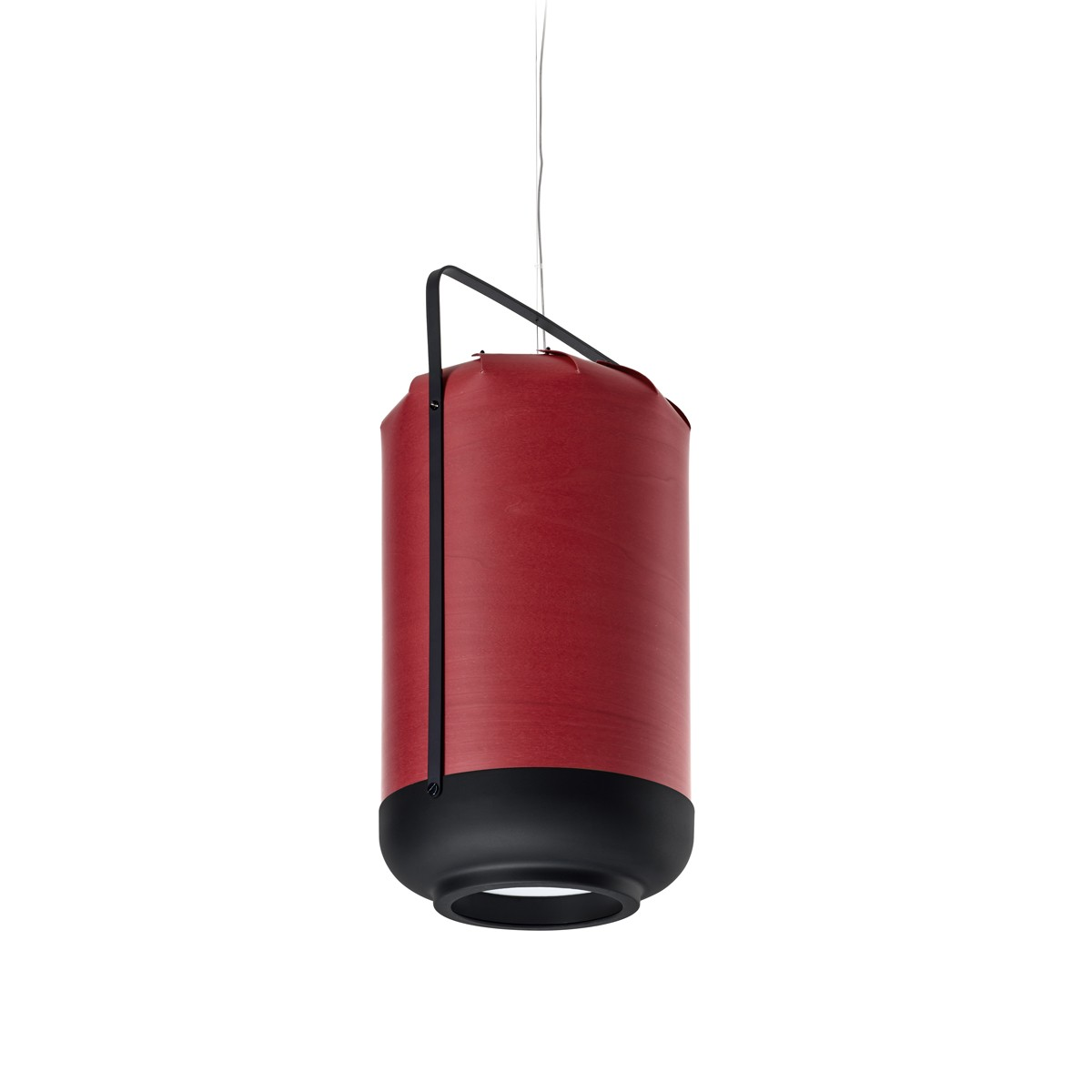 LZF Lamps Chou Tall Small Pendelleuchte, rot