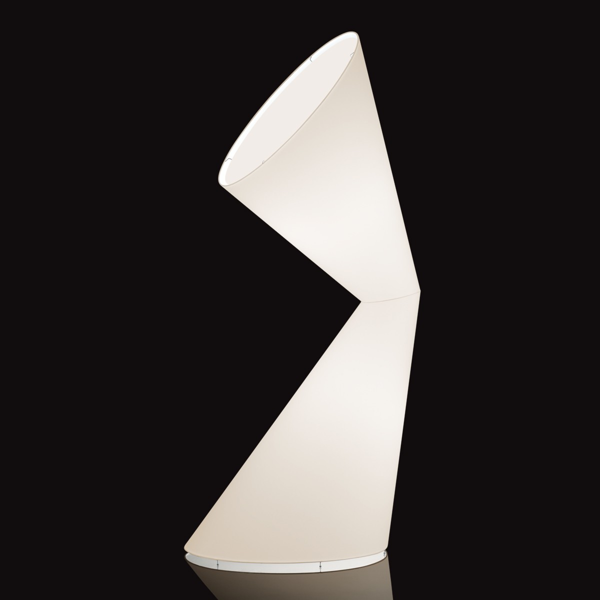 Kundalini La La Lamp L Stehleuchte, weiß