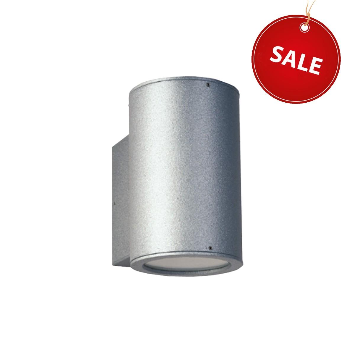 Albert 2124 Außenwandstrahler %Sale%, Silber