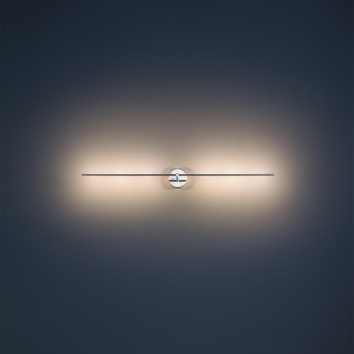 Catellani & Smith Light Stick CW Wand- / Deckenleuchte, Breite: 61 cm, Nickel