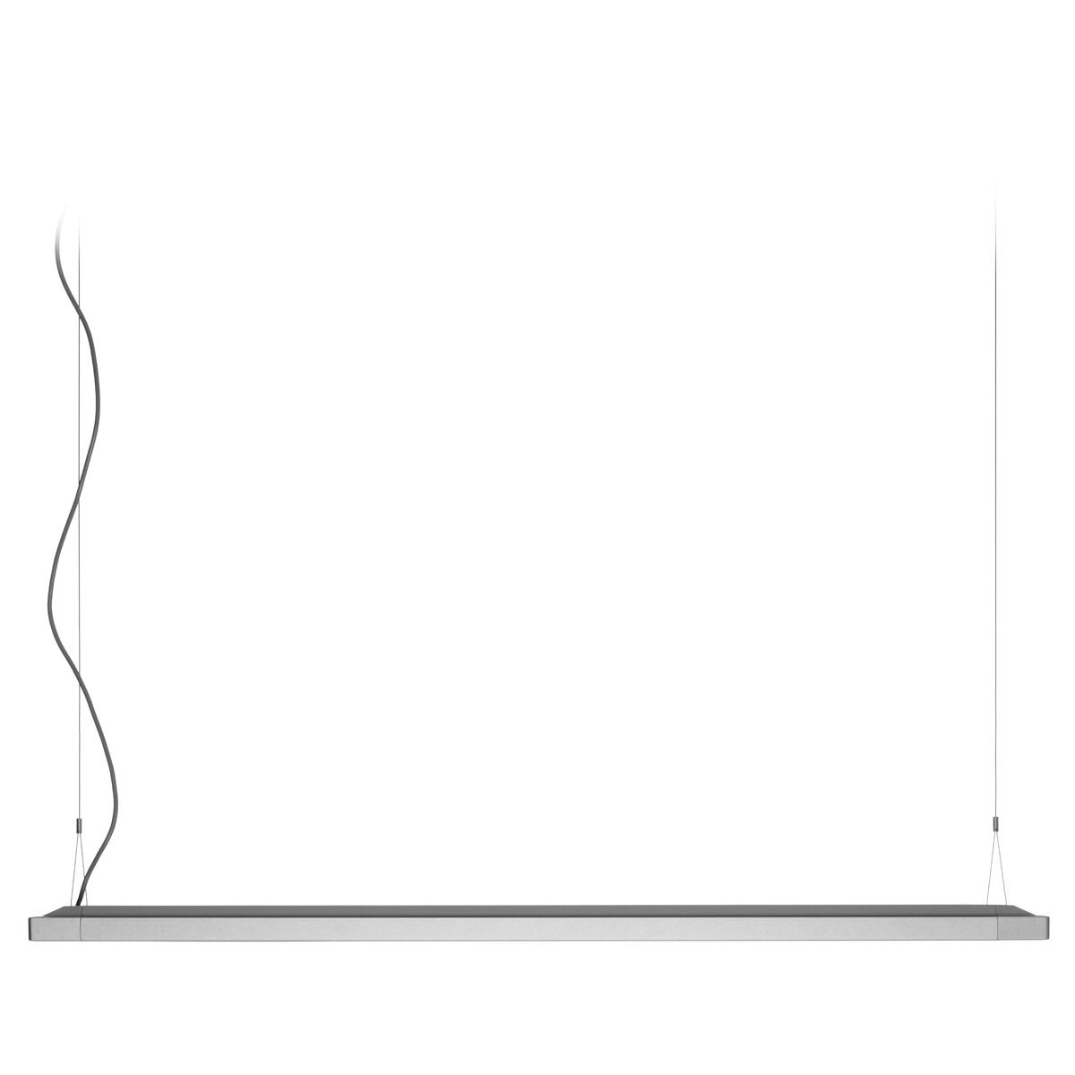 Belux Flat-34 Pendelleuchte, 2-Stufenschaltung, Aluminium