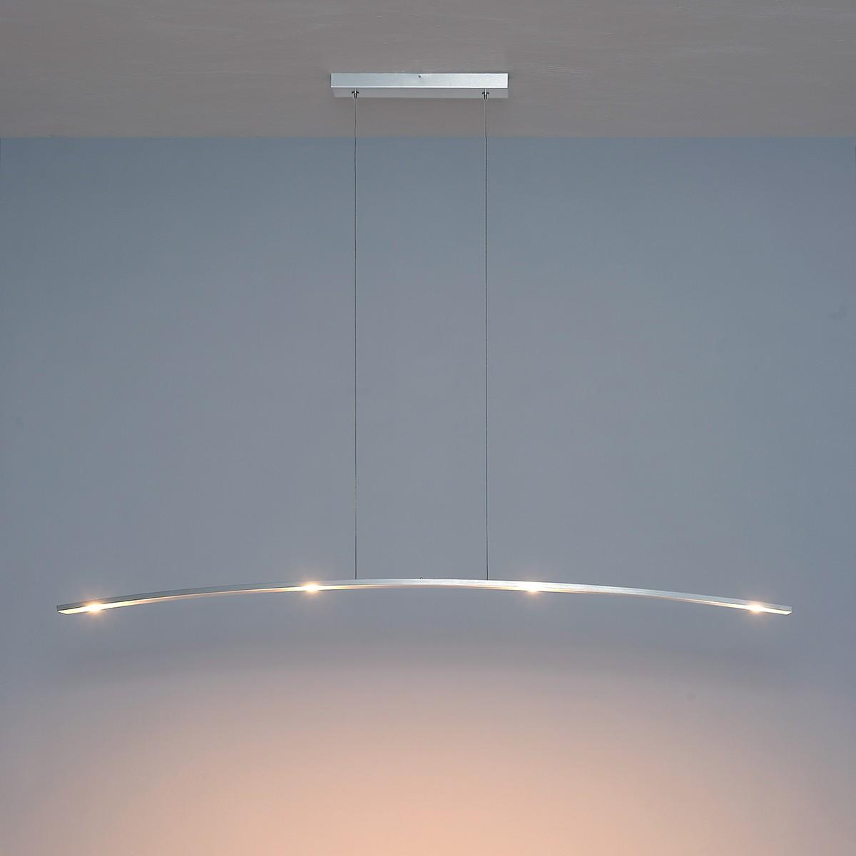 Bopp Change Action Pendelleuchte, Länge: 155 cm, Aluminium geschliffen