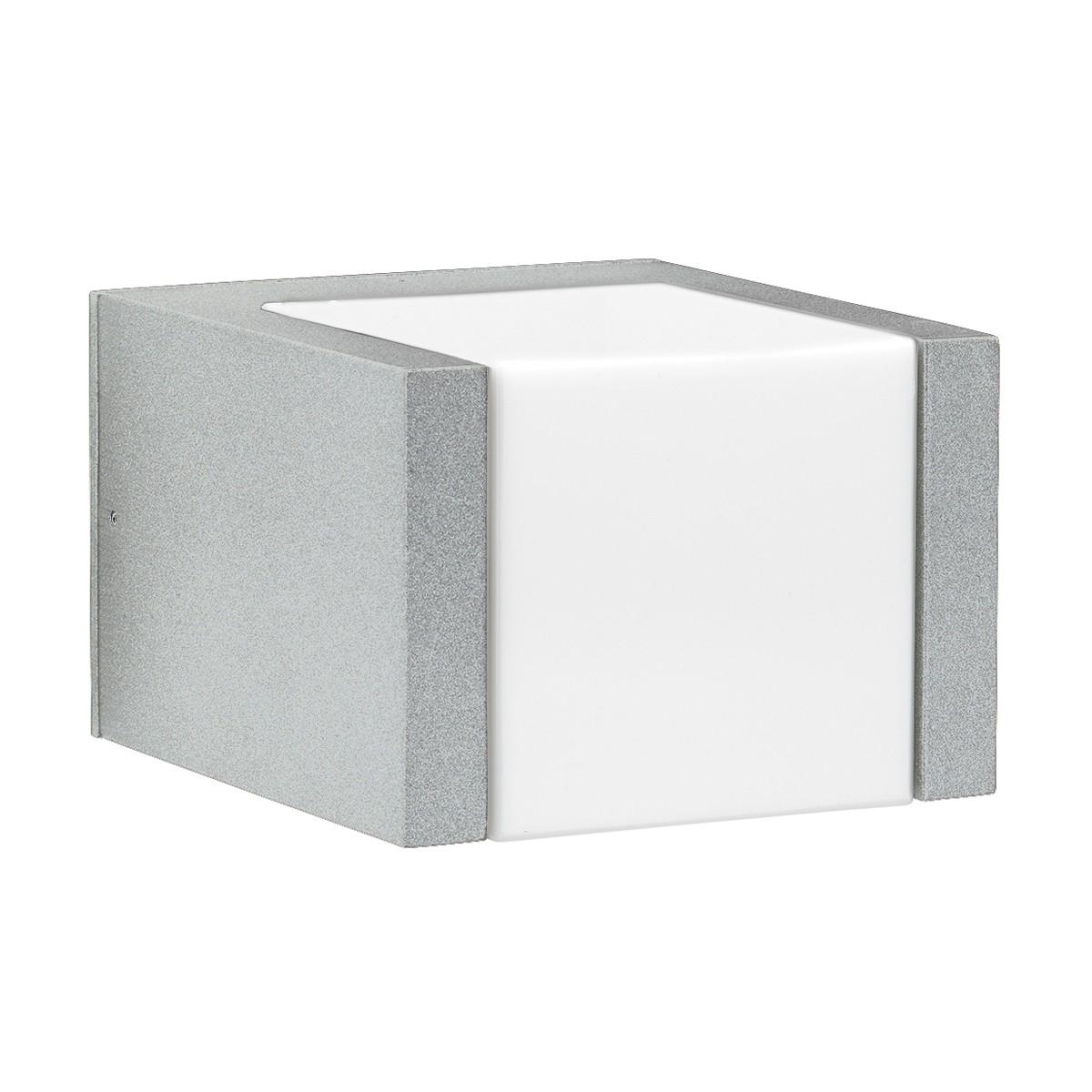 Albert 0332 LED Außenwandleuchte, Silber