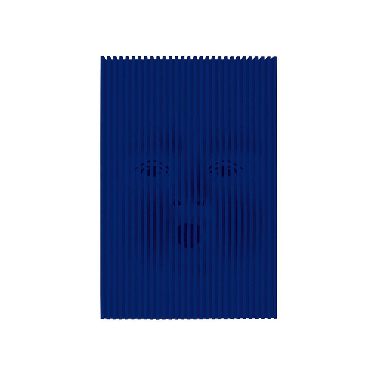 Rotaliana Eolo Tischleuchte, blau