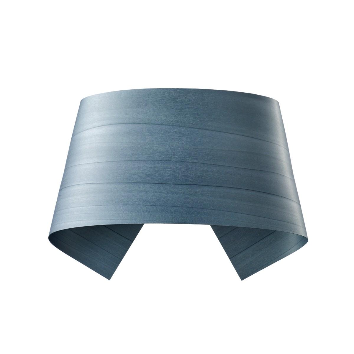 LZF Lamps Hi-Collar Wandleuchte, blau