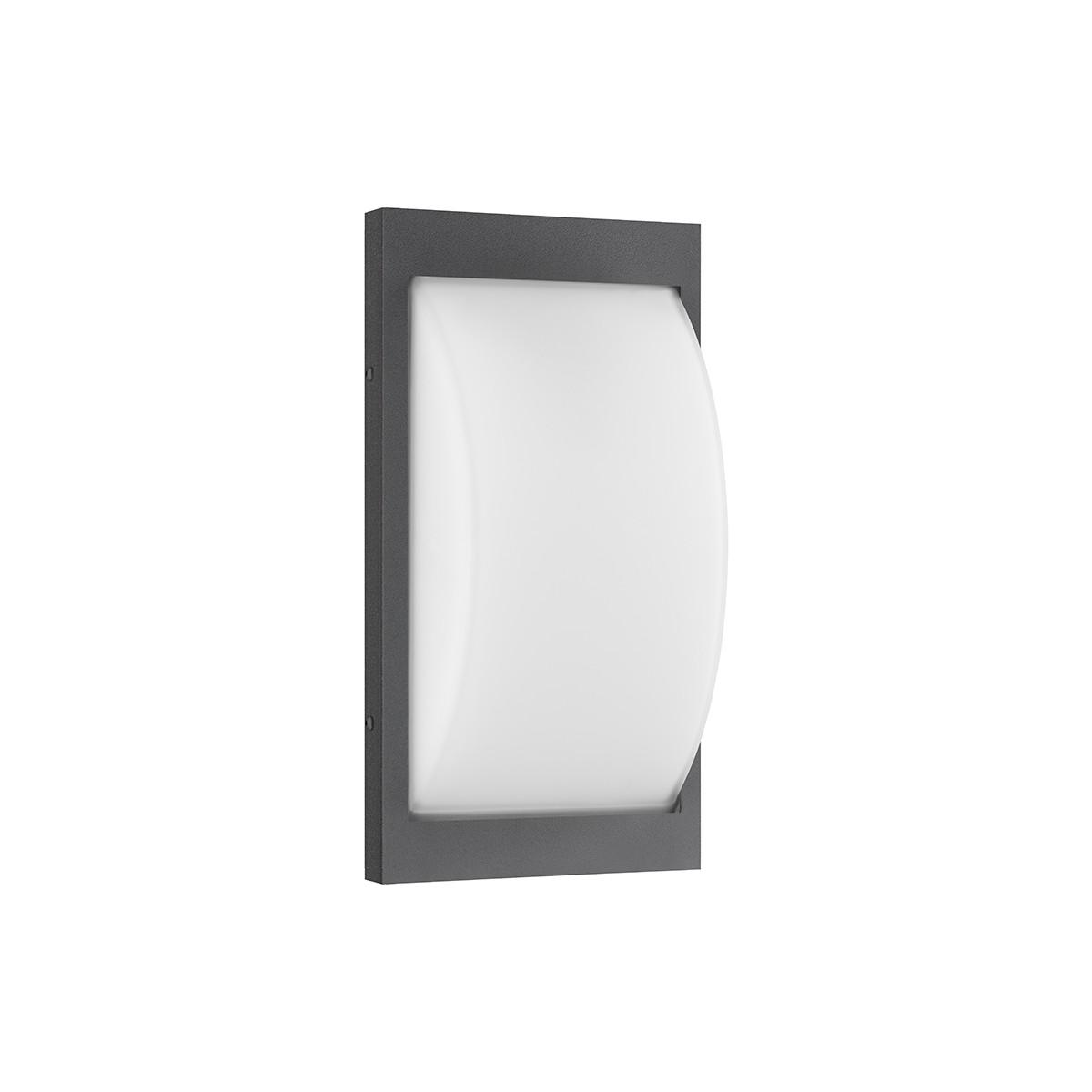 LCD Außenleuchten 069 Wandleuchte, graphit, ohne Bewegungsmelder