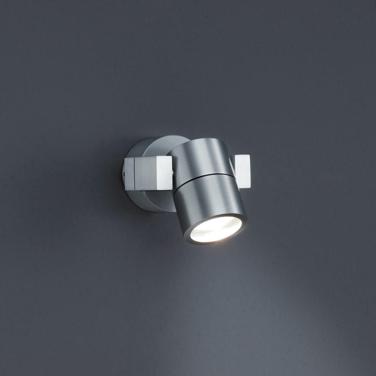 Helestra HL-15 Außenwandleuchte, Aluminium eloxiert