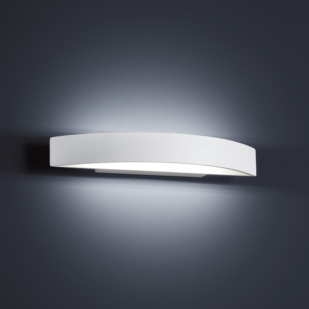 Helestra Yona Wandleuchte, Länge: 37,5 cm, weiß matt