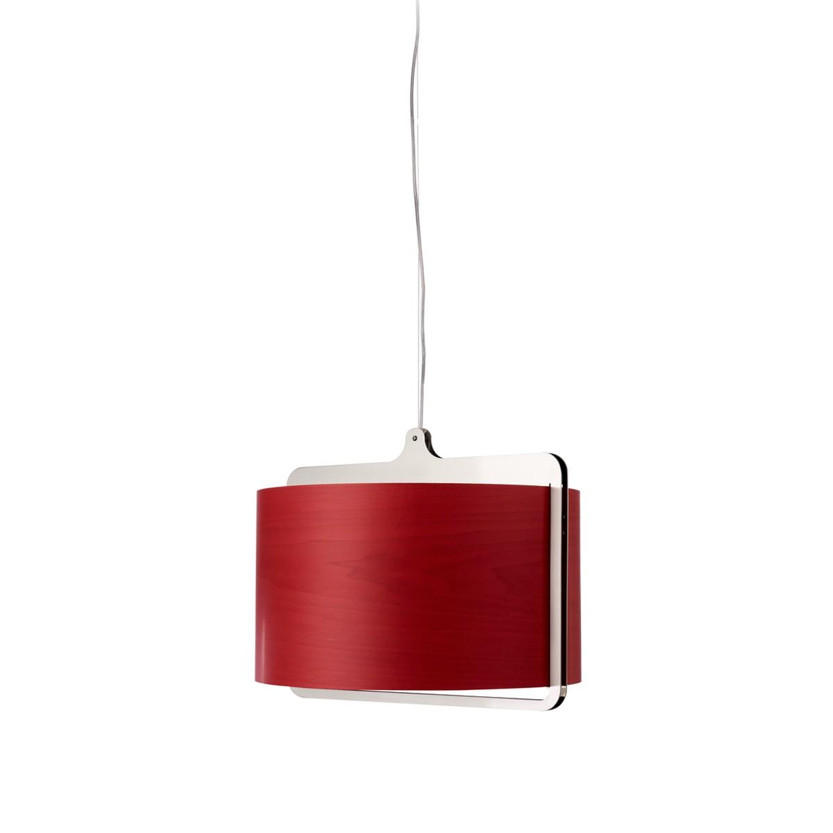 LZF Lamps Icon Pendelleuchte, rot