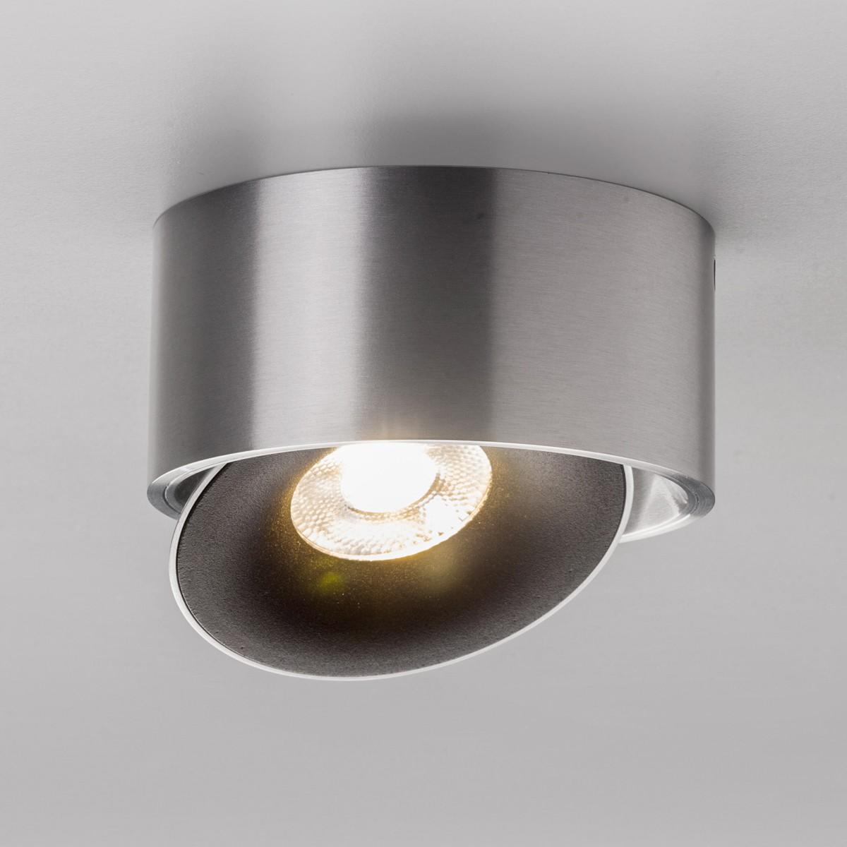 Lupia Licht Saturn Deckenstrahler, Aluminium matt