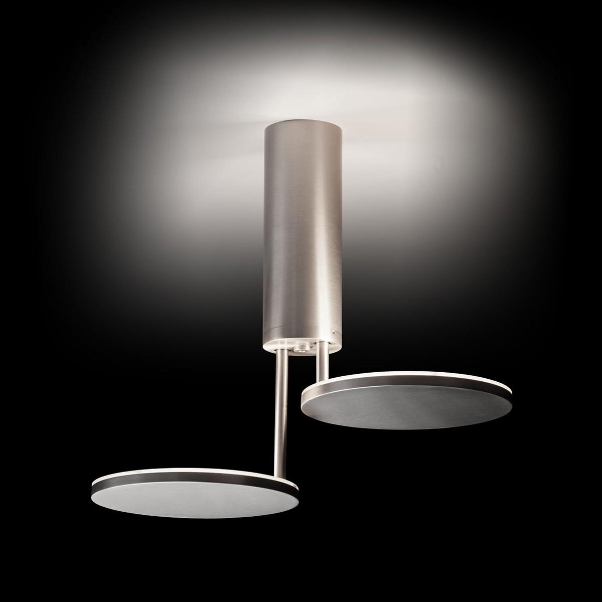 Holtkötter Leuchten Invader LED Deckenleuchte, Aluminium matt