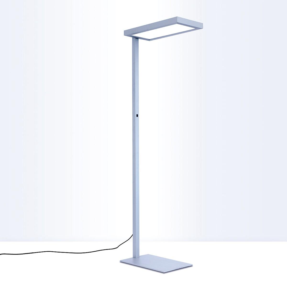 Lightnet Nomic-S Stehleuchte, Multisensor, 3000K, Aluminium natureloxiert