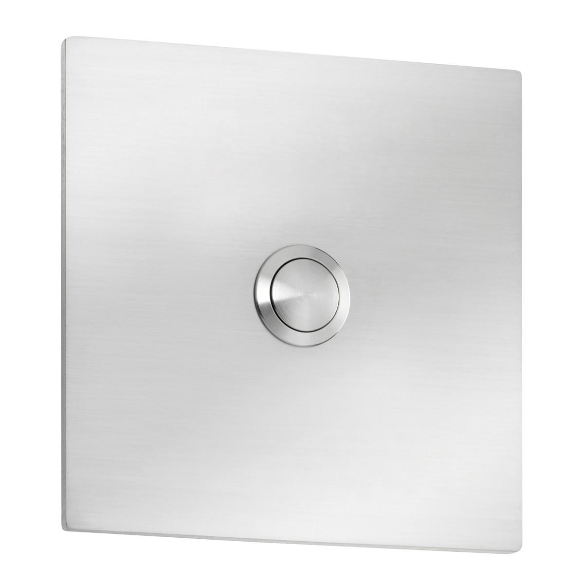 CMD Leuchten Klingelknopf Quadrat, 10 x 10 cm