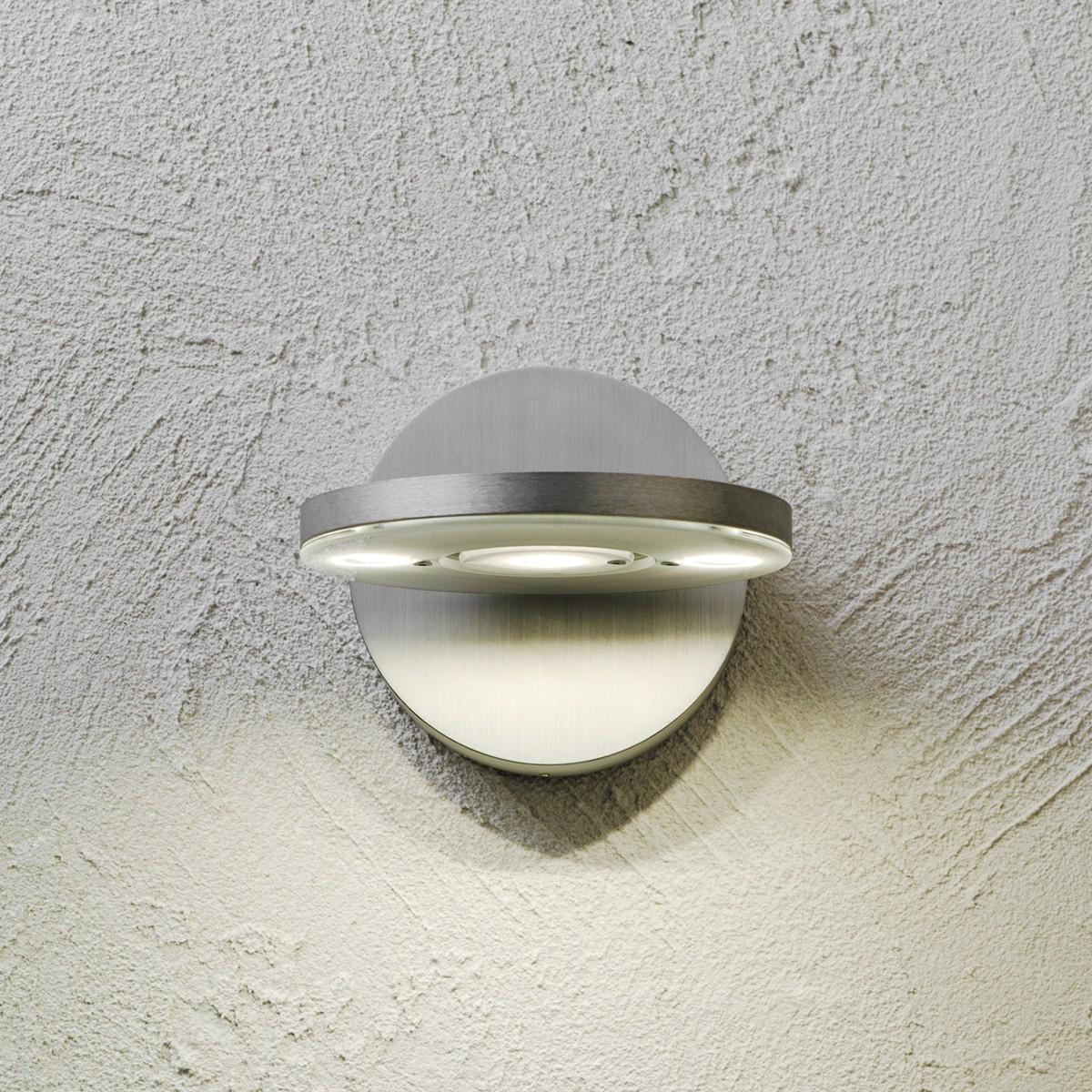 Escale Eos Wandleuchte LED, Aluminium geschliffen