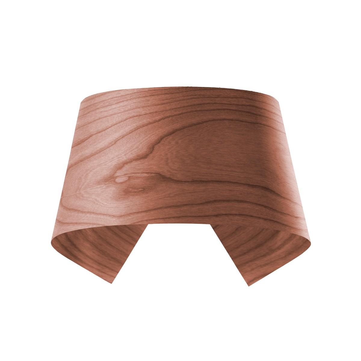 LZF Lamps Hi-Collar Wandleuchte, schokolade