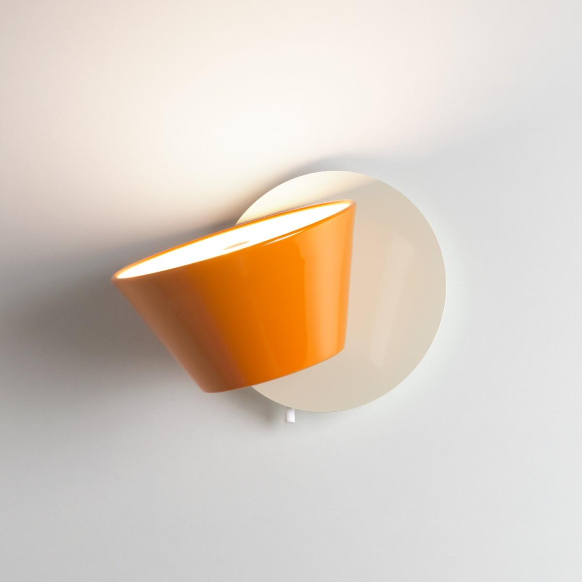 Marset Tam Tam A Wandleuchte, Schirm: orange