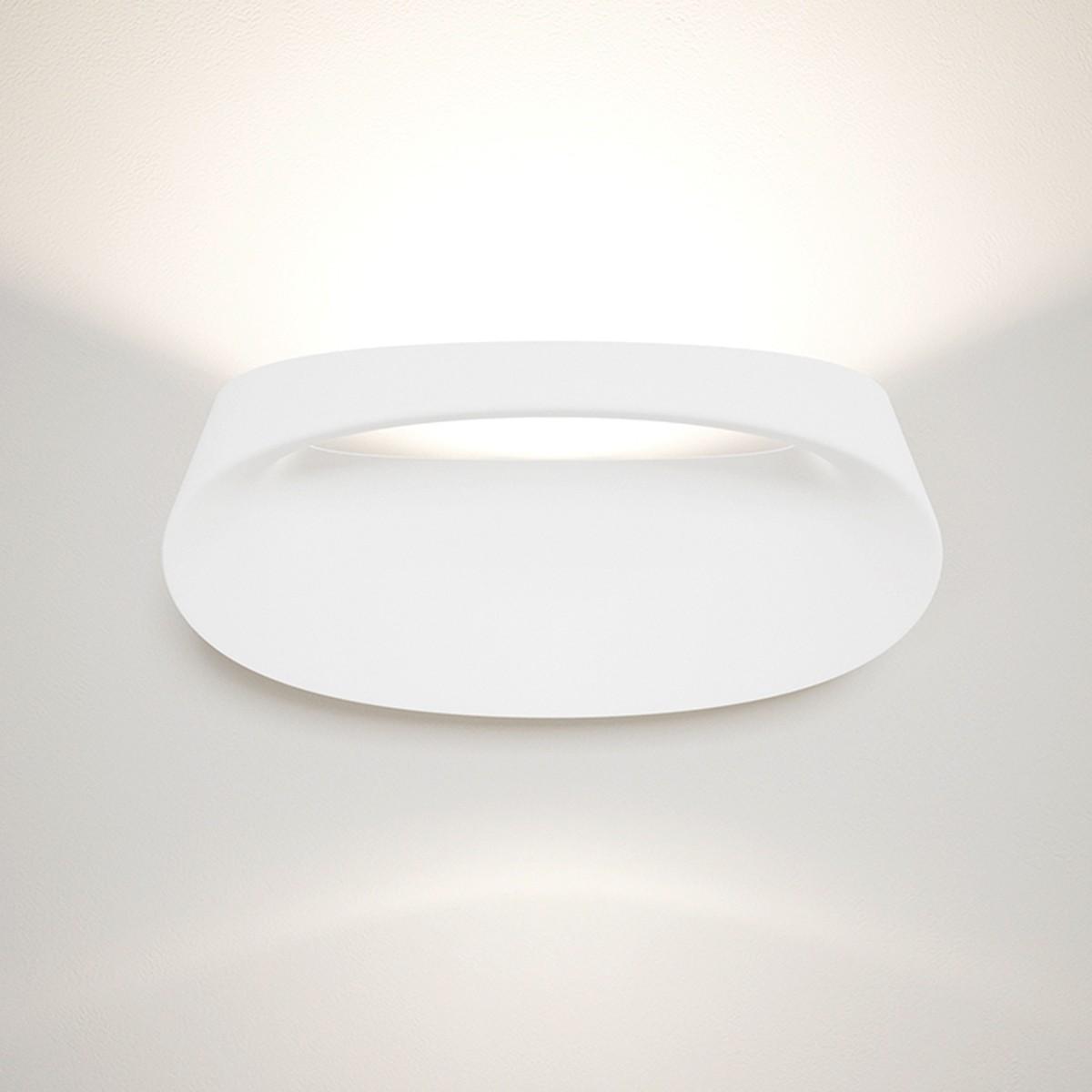 Fontana Arte Bonnet Wandleuchte, 3000K, weiß (lackierbar)