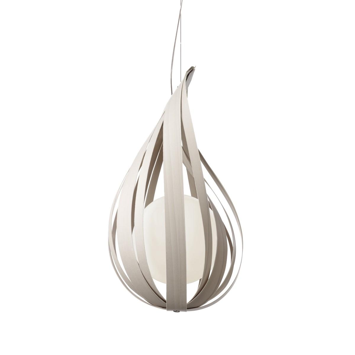LZF Lamps Raindrop Medium Pendelleuchte, grau