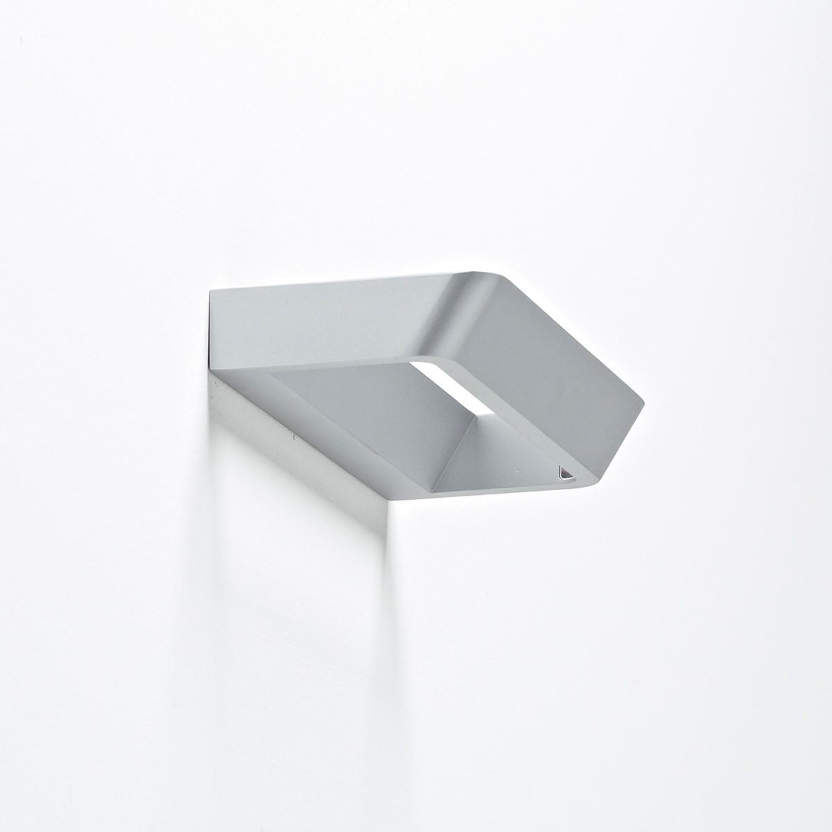 Rotaliana Belvedere W1 LED Wandleuchte, silber, 2700° K