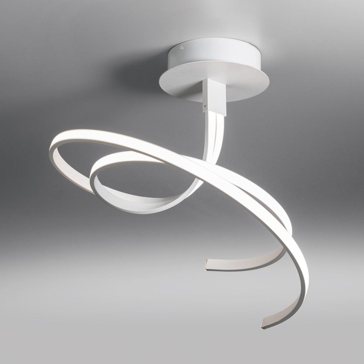 Lupia Licht Curl Deckenleuchte, weiß