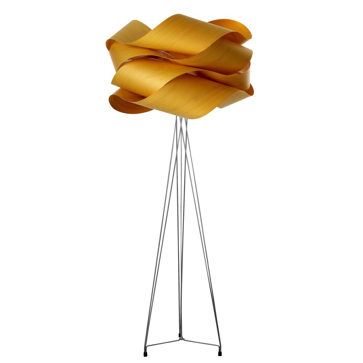 LZF Lamps Link Stehleuchte, Schirm: gelb